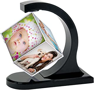 Neil Enterprises Inc. Floating Photo Cube (1, Black)