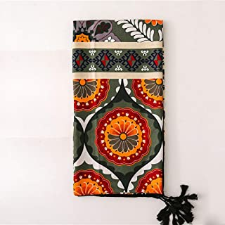 ECSWP KAIDANLE Femmes Grande écharpe Douce Totem Imprimer Long châle Femme Mode Cou écharpe Couverture Wrap Pashmina