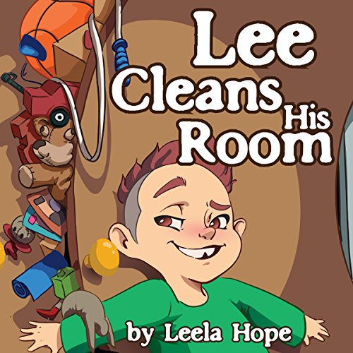 Lee Cleans His Room audiobook cover art