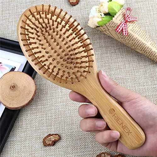 ORIENEX(オリエンネックス)ヘアブラシヘアケア木製頭皮マッサージ艶髪木製櫛美髪ケア