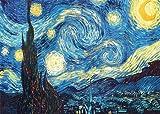 Vincent Van Gogh Starry Night, A4, Poster/Druck, Fotopapier