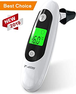 Baby Thermometer,  Forehead and Ear Thermometer for Flu-Early, tarbs Upgrade 2019 (5-in-1) Infrared Digital Thermometer for Fever, Accurate for Baby Infants Toddlers Adults and Objects, FDA &CE Approved