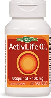 Nature's Way ActivLife Q10 Ubiquinol 100 mg, 60 softgels