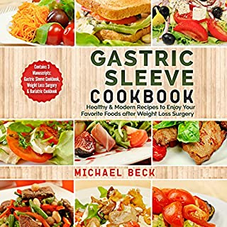 Gastric Sleeve Cookbook audiobook cover art