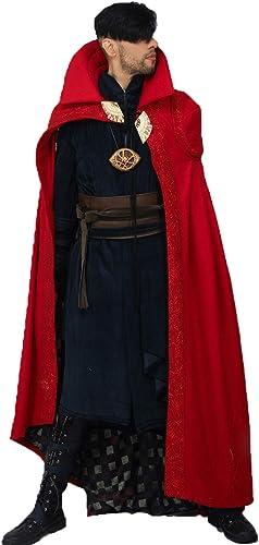 muchas sorpresas Nexthops Disfraz Doctor Doctor Doctor Strange Stephen Cosplay costume Carnaval Fiestas Temáticas New Arrival (Capa+túnica+forro+cinturón+ pulsera+insignia) para hombres  bajo precio del 40%