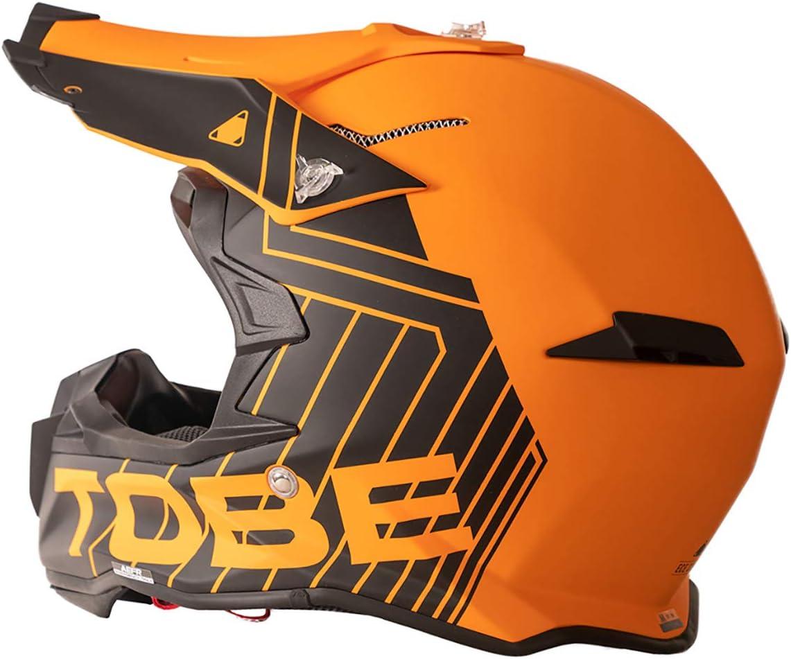Jet Black//White - Medium Tobe Terminator Helmet