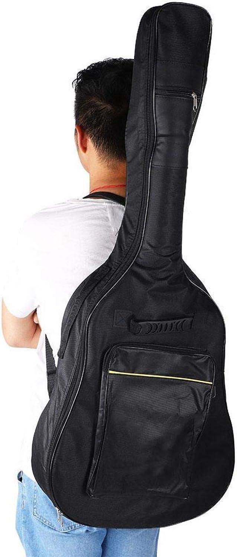 Kadimendium Bolsa de Guitarra Oxford Mochila de Guitarra de artesanía Fina Práctica para Amantes de la Guitarra para Guitarrista