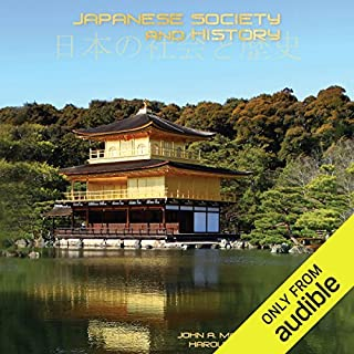 Japanese Society and History audiobook cover art