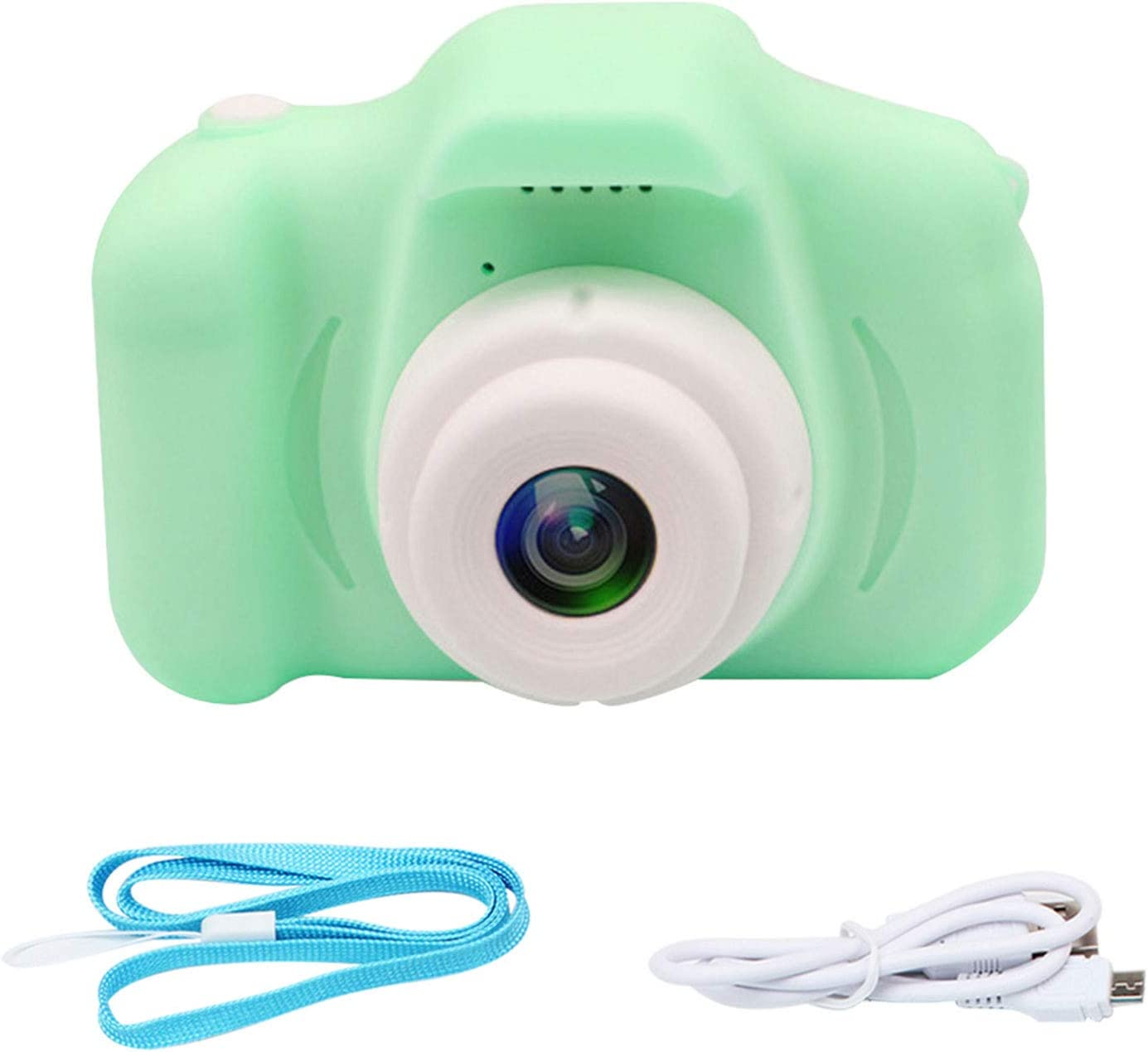 Ajcoflt Kids Camera,2.0 Inch 1080P Mini Rechargeable Digital Camera for Children Photo Recording Multifunction Camcorders for Girls Children Toddler 3-10 Year Old Birthday Christmas Festival Gift