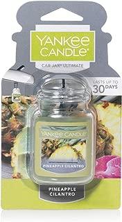 Yankee Candle Pineapple Cilantro Car Jar Ultimate Air Freshener, Fruit Scent