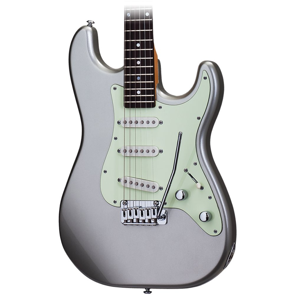 Cheap Schecter Nick Johnston Traditional Atomic Silver Electric Guitar Black Friday & Cyber Monday 2019