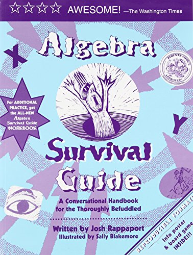 Price comparison product image Algebra Survival Guide: A Conversational Guide for the Thoroughly Befuddled