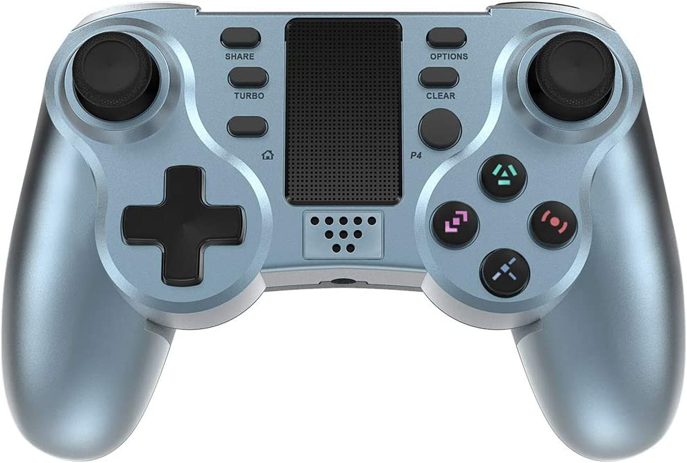 Controller for PS4 In stock PowerLead Gaming Super special price Six-axi Wireless