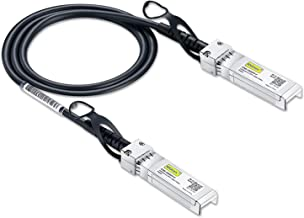SFP+ DAC Twinax Cable, Passive, Compatible with Cisco SFP-H10GB-CU1M, Ubiquiti and More, 1 Meter(3.3ft)