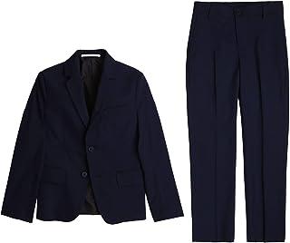 Traje de chaqueta y pantalón BOSS NIÑO MARINO 10AÑOS