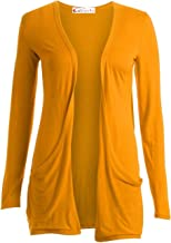 ZJ Clothes Ladies Women Boyfriend Open Cardigan with Pockets All Sizes