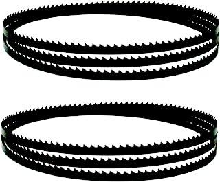 Wnuanjun 2st Carbon BandSaw BLADES 2083X6.5x0.35mm 6 10 14 14TPI Bandsåg Träbearbetningsverktyg Tillbehör (Size : 10TPI)