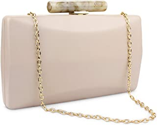 K.T.Fancy  Clutch Purses for Women Evening Bag Crossbody Shoulder Handbags for Wedding Party