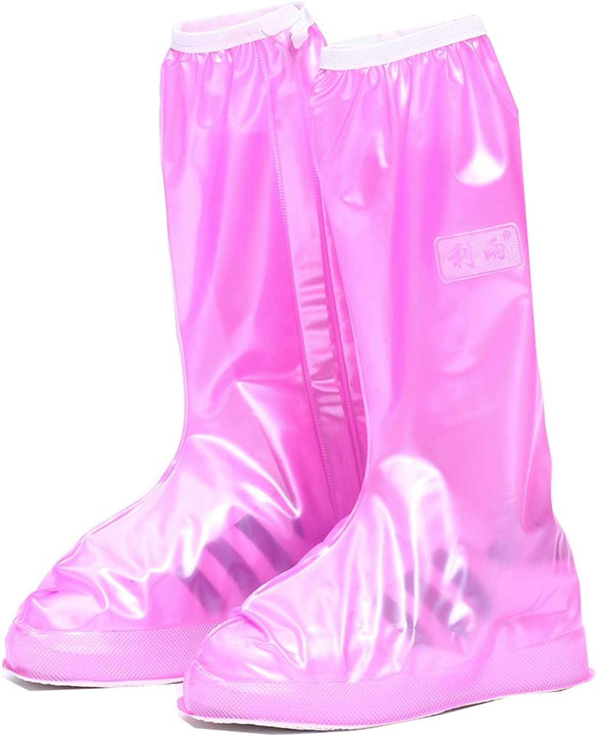 E-supao Women and Men Waterproof shoes Cover Rain Snow Boots Covers Reusable Slip-Resistant Rain Covers