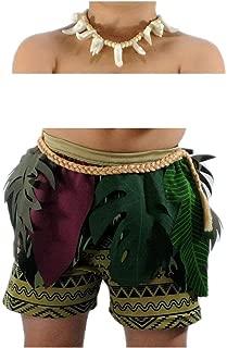 Boys Maui Disney Moana Inspired Polynesian Costume