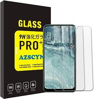 【2枚セット】OPPO AX7 ガラスフィルム OPPO AX7 強化ガラス 保護フィルム スクリーン プロテクター, OPPO AX7 フィルム 超薄型 硬度9H 高透過率 指紋防止 耐衝撃
