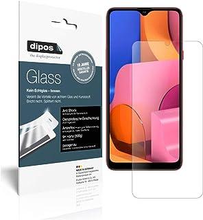 dipos I 9H pansarfilm matt kompatibel med Samsung Galaxy A20s skyddsfolie displayskyddsfolie (mindre än glaset eftersom de...