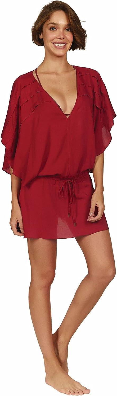 ViX Paula Hermanny Women's Vintage Pleats Tunic Swimsuit Cover Up