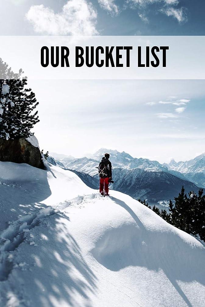 オプショナルピーブ曲げるOur Bucket List: Bucket List For Couples: 6x9 Inch, 120 Pages, Blank Lined Journal