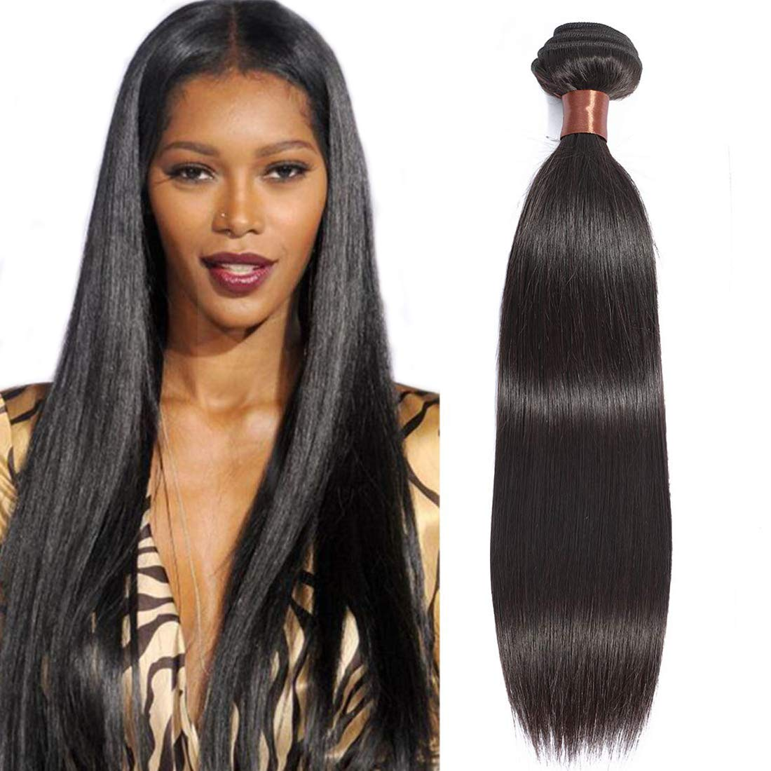 ANGIE QUEEN Peruvian Virgin Hair Straight Bundle Ranking TOP4 Tulsa Mall inch 28 One 100