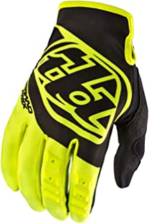 2018 Troy Lee Designs Youth GP Gloves-Flo Yellow-YS