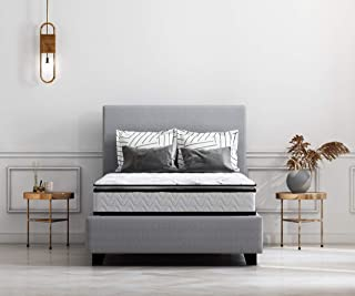 Ashley Furniture Signature Design - 10 Inch Bonnell Pillow Top Mattress - Twin Size - White