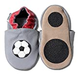 HOBEA-Germany Lauflernschuhe in grau - Fussball Soccer Fanartikel, Größe Schuhe:26/27 (30-36 Mon), Modell Schuhe:WM 2018
