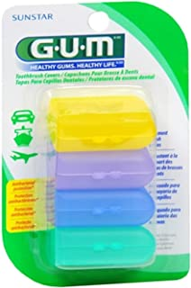 GUM Toothbrush Covers 4 Each (Pack of 5)