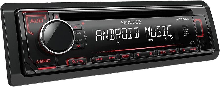 KENWOOD KDC-120UR, Autorradio, Radio, CD, Aux, USB, USB Type ...