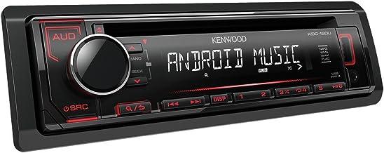 KENWOOD KDC-120UR, Autorradio, Radio, CD, Aux, USB, USB Type-A, Negro, Cromo