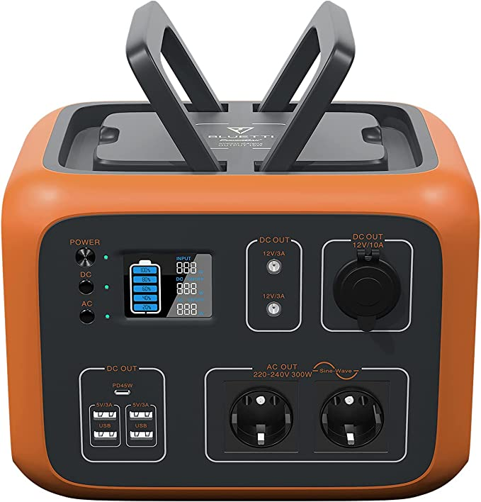 27 opinioni per PowerOak Bluetti AC50S 500Wh Generatore Solare Portatile Generatore di Corrente