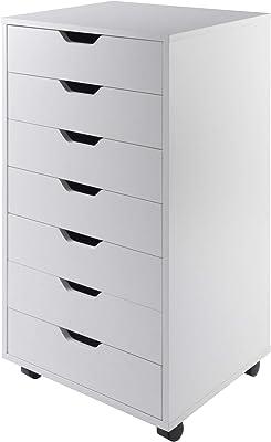 Winsome Halifax Storage/Organization, 7 drawer, White