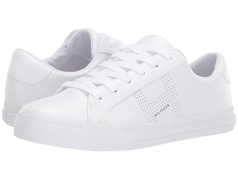 dcde4257bd20 Tommy Hilfiger Aydea (White) Women s Lace up casual Shoes