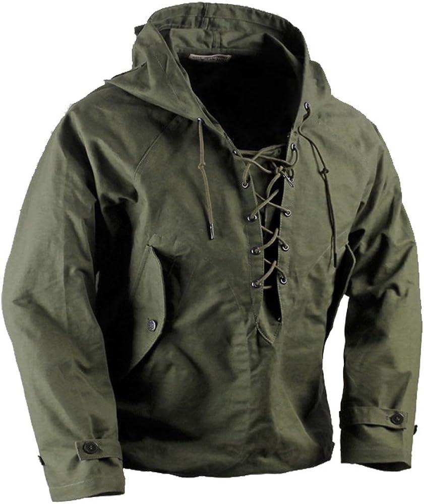 USN Deck Max 58% OFF Jacket WW2 US Navy Pullove Award-winning store Uniforms Military Parka Mens