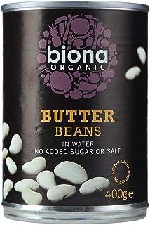 Biona Organic Butter Beans, 400 g