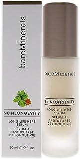 bareMinerals Skinlongevity Long Life Herb Serum For Unisex 1 Oz Serum, White, 28.3 gram