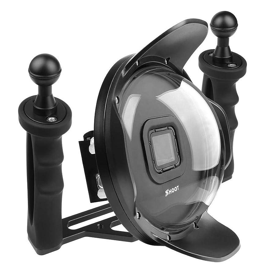 vanpower 6 inch Diving Waterproof Case Lens Hood Dome for GoPro Hero 5/6/7 Black