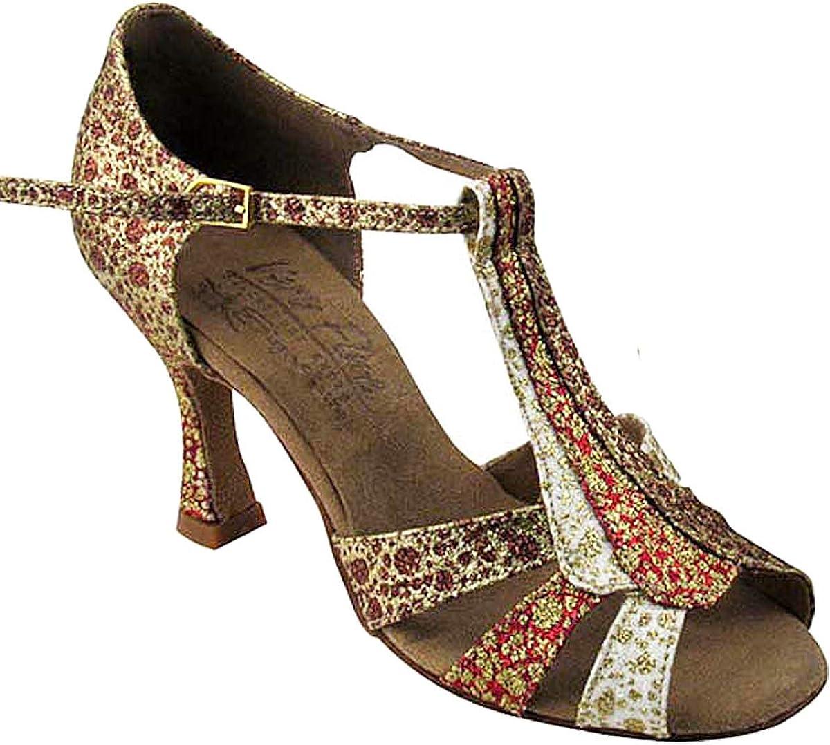 Women's Ballroom Dance Shoes Tango Wedding Salsa Shoes S2806EB Comfortable-Very Fine 3