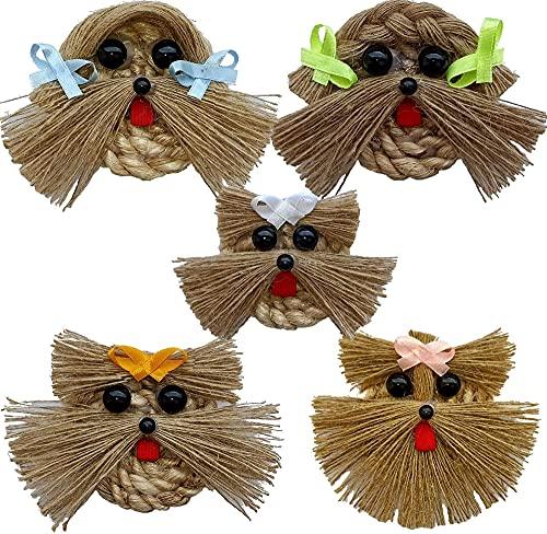 Decoraciones Para Salas De Casa Adornos Para La Sala Elegantes Centros De Mesa Para Comedor Mesas Decorativas Para Sala Set of 5 Handmade Dog Clippers