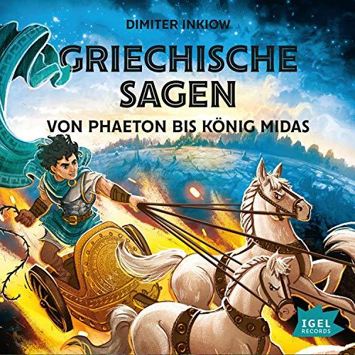 Griechische Sagen - Von Phaeton bis König Midas Titelbild