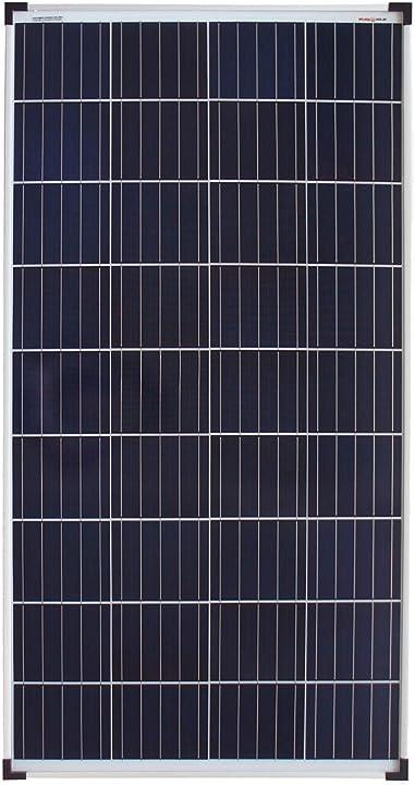Pannello solare policristallino ideale per case mobili casette da giardino barche enjoy solar poly 140w 12v 4260558572565