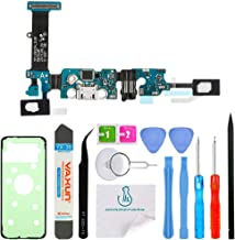 OmniRepairs Charging USB Dock Port with Audio Dock, Microphone and Touch Key Ribbon Flex Cable Replacement Compatible for Samsung Galaxy Note 5 N920A (AT&T) with Adhesive and Repair Toolkit