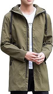 EASTEMPO コート メンズ ロング 秋冬 ロングジャケット 防寒 カジュアル ビジネス おしゃれ フード付き 大きいサイズ
