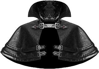 devil fashion Cardigan con Cappuccio Donna Gothic Punk Nero Formato Disponibile XS-3XL Tunica Irregolare Abbigliamento di Strada