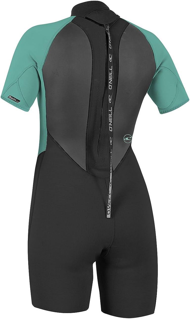 ONeill Womens Reactor-2 2mm Back Zip Short Sleeve Spring Wetsuit
